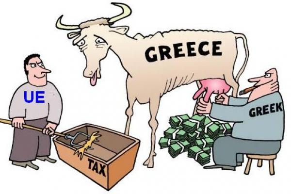 Risultati immagini per foto di crisi in grecia