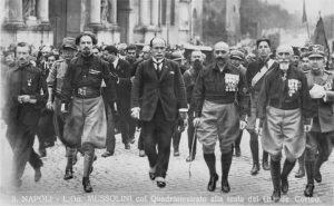 Per chi non sapesse che cosa significa la ''marcia su Roma'' ...