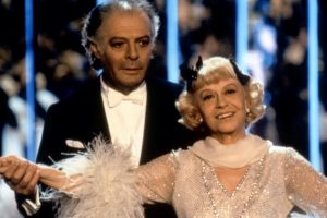GINGER AND FRED, Marcello Mastroianni, Giulietta Masina, 1986, (c)MGM