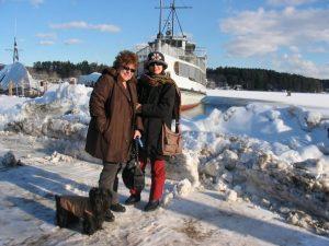 Con Rosemary a Sunapee New England