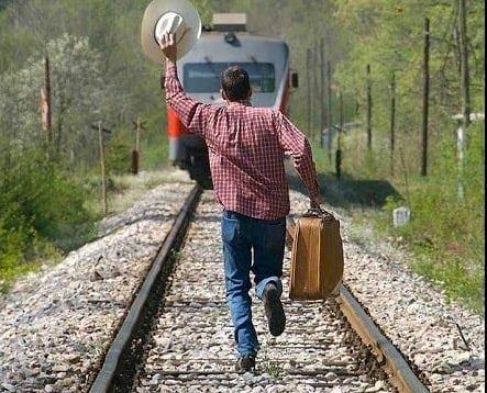 L'ultimo treno e poi ... ''ciccia''!