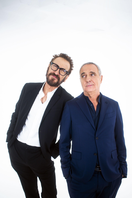Giallini - Panariello: ''Lui è peggio di me''