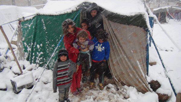 2021 bambini nei campi profughi.